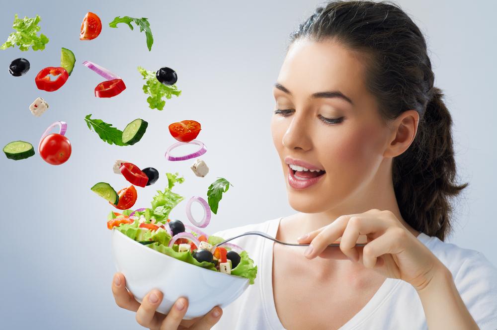 Здоровая еда-салат