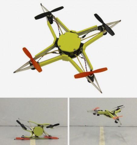 Swiss robotics has created a robust drone