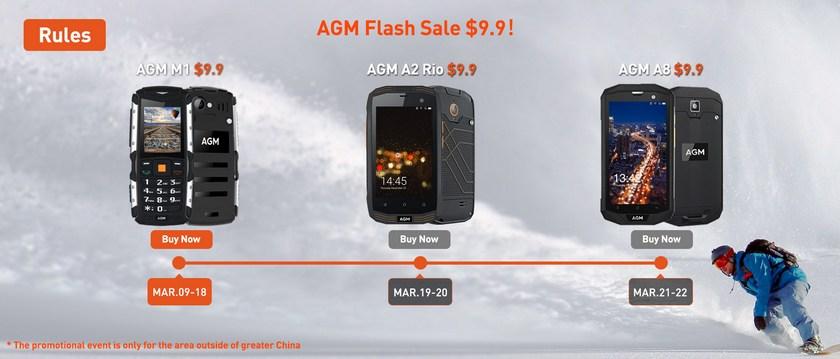 [the] AGM prepares three flagship level Galaxy S8