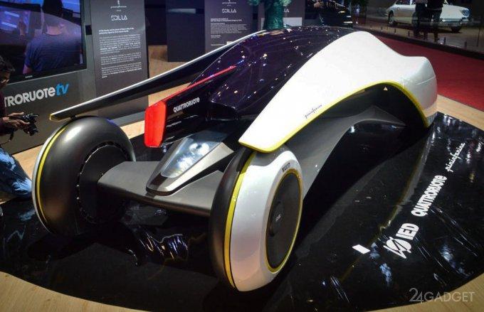 Авто будущего из Италии (19 фото + видео)
