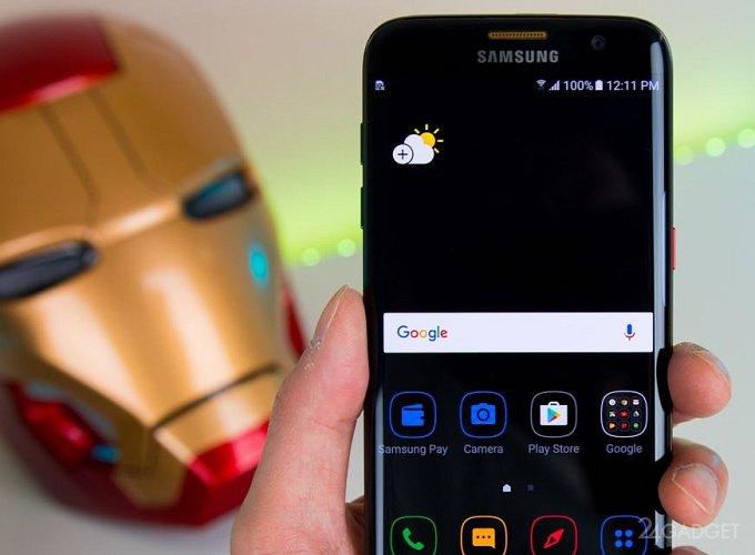 Unannounced Galaxy S8 lit up in AnTuTu (video)