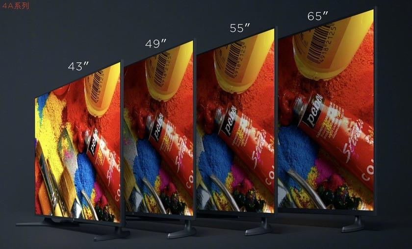 Xiaomi introduced the Mi cheap TVs TV 4A