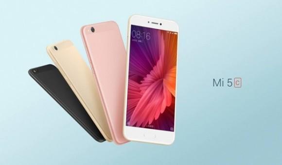 Xiaomi introduced the Mi smartphone 5c