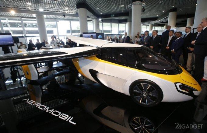 7939 AeroMobil flying car will cost 1.2 million euros (18 photos + video)