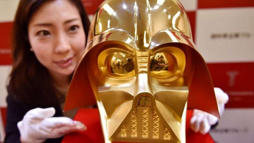 Darth Vader helmet made of pure gold worth $1.4 million