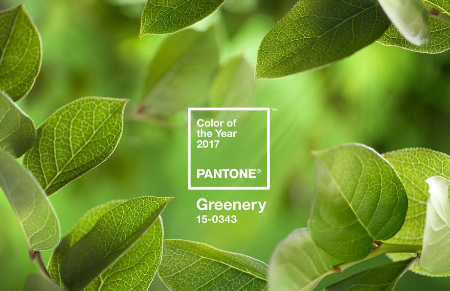 Цвет greenery-2017