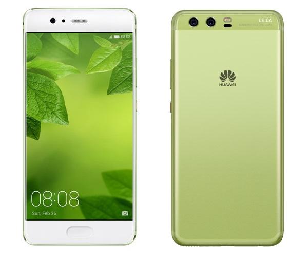 Huawei P10 greenery-экран смартфона