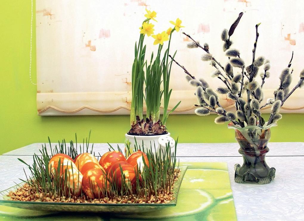 Светлый праздник Пасхи-декорации
