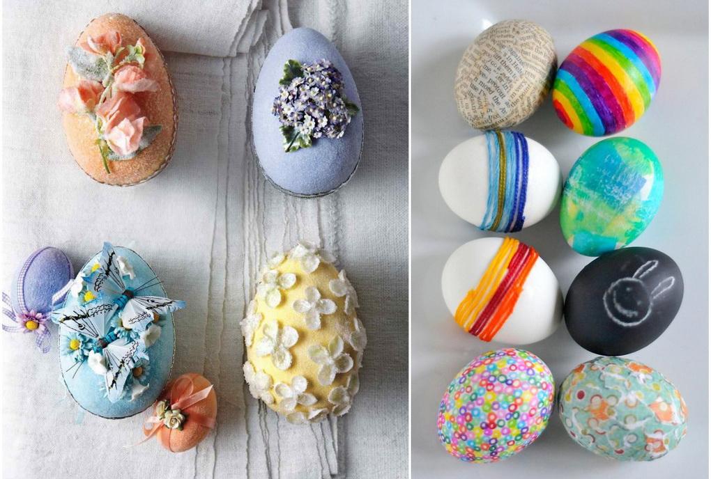 Оригинальные пасхальные яйца-идеи и фото