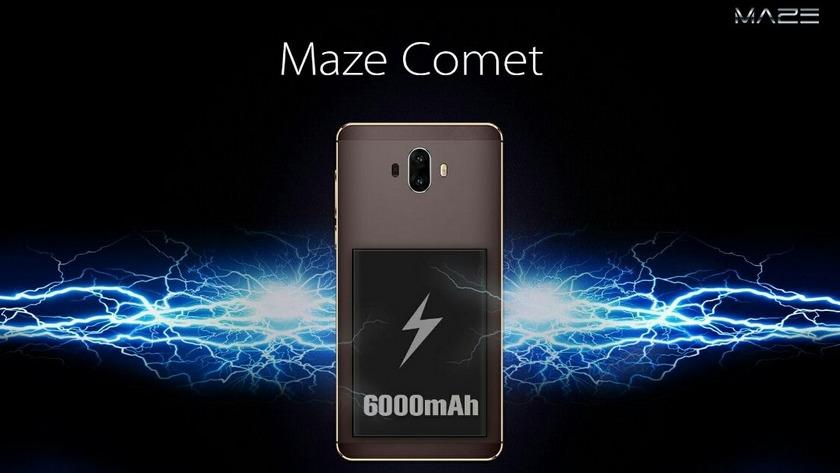 [for publicity] Maze Comet: smartphone-survivor with dual camera