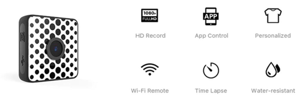 Foxshot - миниатюрная влагозащищенная камера, записывающая в формате 1080P (2)