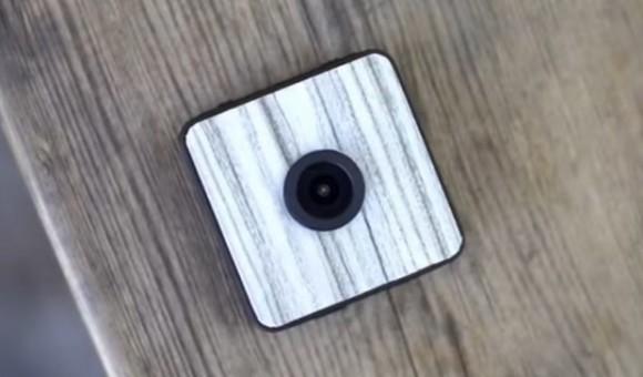 Foxshot — miniature waterproof camera, recording in 1080P