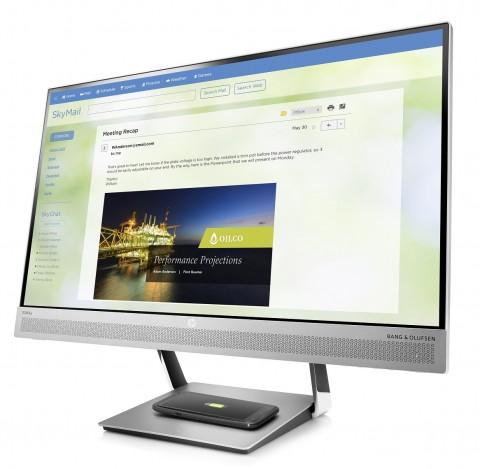 HP EliteDisplay S240uj with built-in wireless charging on sale in Russia