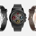 6664 MyKronoz ZeTime: smart watch with mechanical arrows on top of the screen