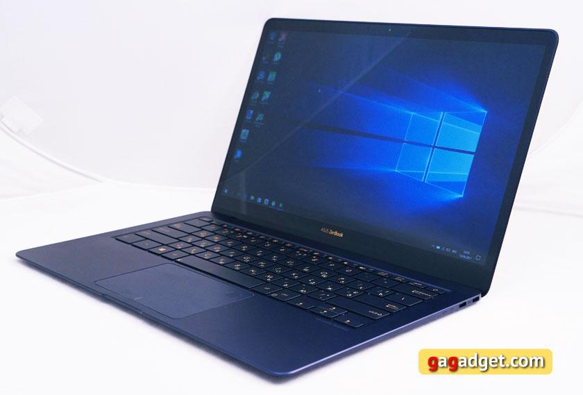 Review ultrabook ASUS ZenBook 3 Deluxe UX490UA