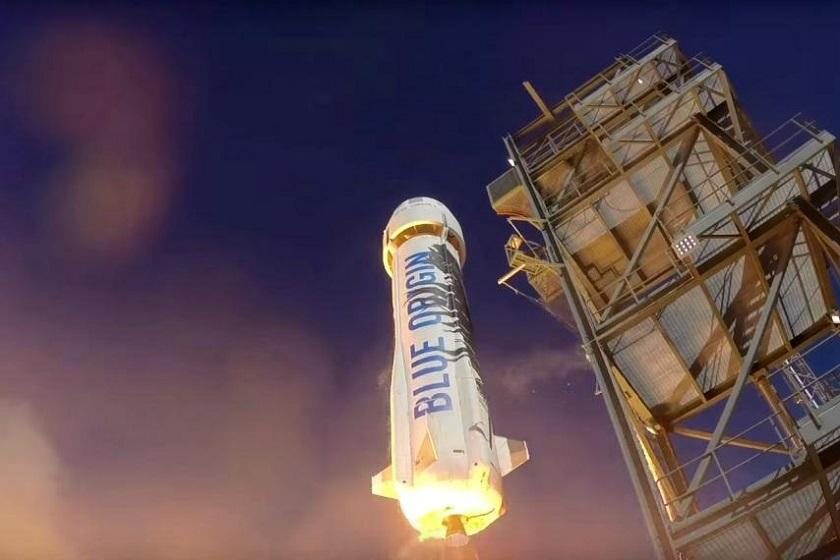 Космические туристы Blue Origin слетают в космос и обратно за 40 минут