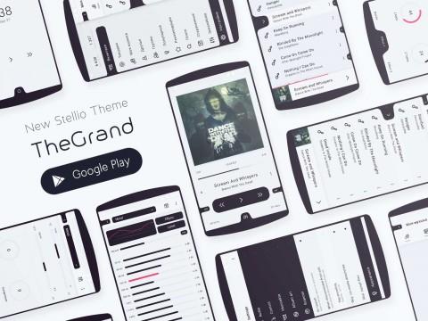 TheGrand: new theme for Stellio player