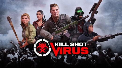 Топ-10 приложений для iOS и Android (10 - 16 апреля) - Kill Shot Virus (2)