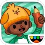Топ-10 приложений для iOS и Android (10 - 16 апреля) - Toca Life. School Logo
