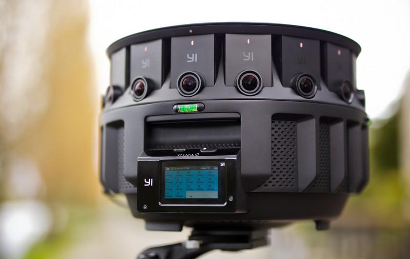 YI Halo: a virtual reality camera for Google Jump