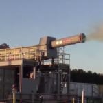 10367 Began testing the rapid-fire railgun weapons