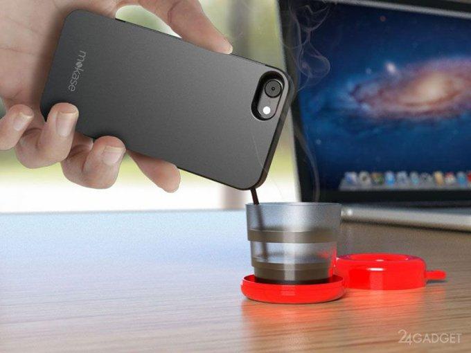 Case-maker Mokase for smartphone (8 photos + video)