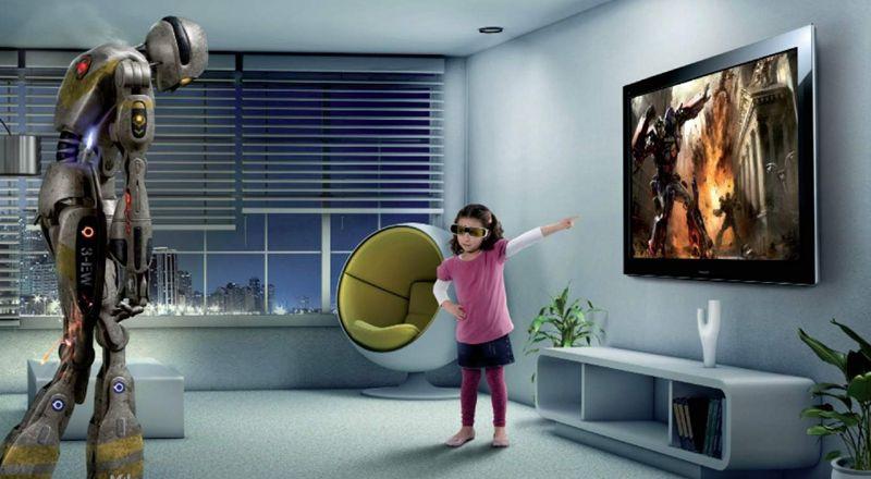 Выбираем телевизор или Как не попасть на маркетинговую «удочку» - Телевизор 3D