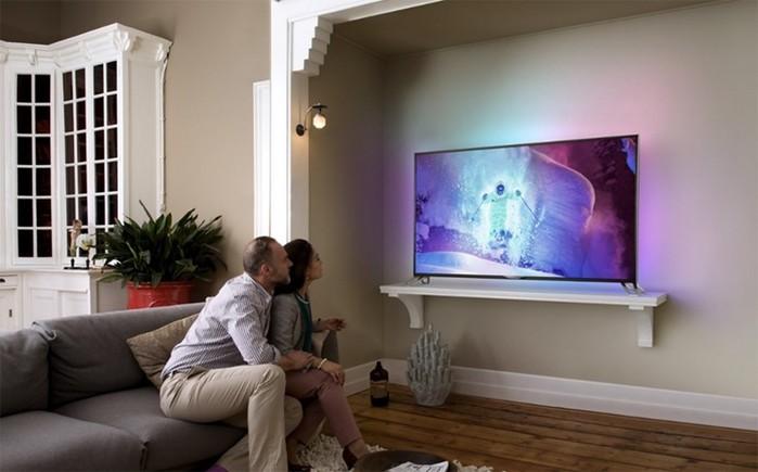 фото Выбираем телевизор или Как не попасть на маркетинговую «удочку» - ТВ в интерьере