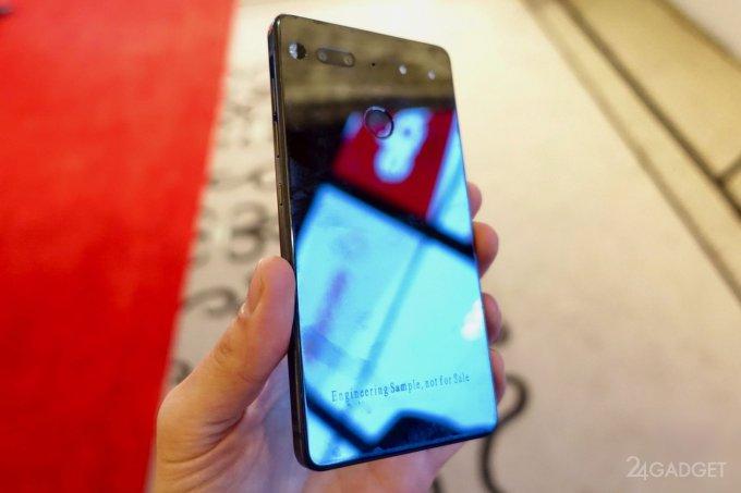 Essential Phone от создателя Android: безрамочный дисплей и модульная конструкция (20 фото)
