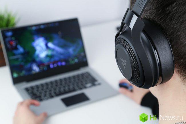 Gamers the joy of headphones Razer ManO'War