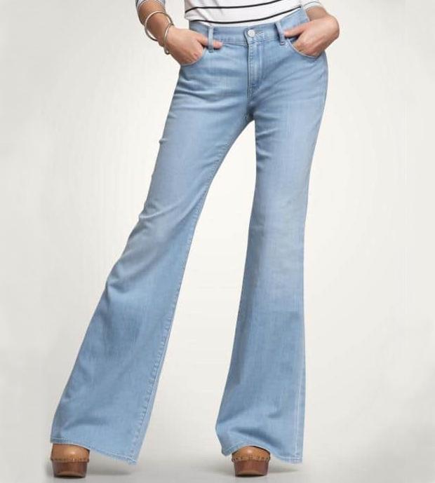 Путеводитель по джинсам – как выбрать свою идеальную пару – Женские джинсы flared cut