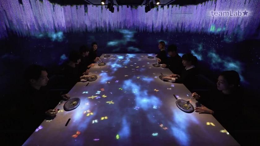 Interactive restaurant in Tokyo