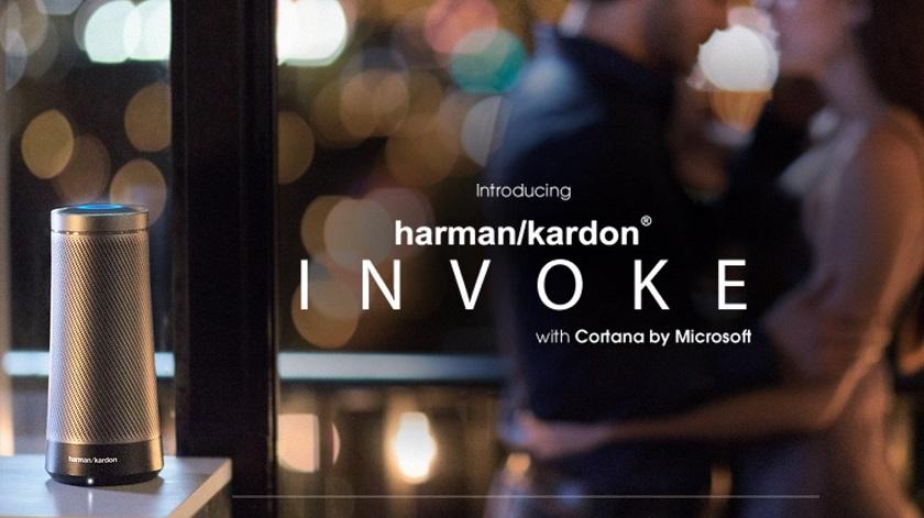 Microsoft and Harman/Kardon announced Invoke: competitor Amazon Echo and Google Home