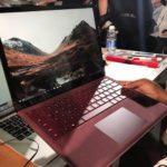 8866 Microsoft Surface Laptop — first laptop on Windows 10 S (31 photos + video)