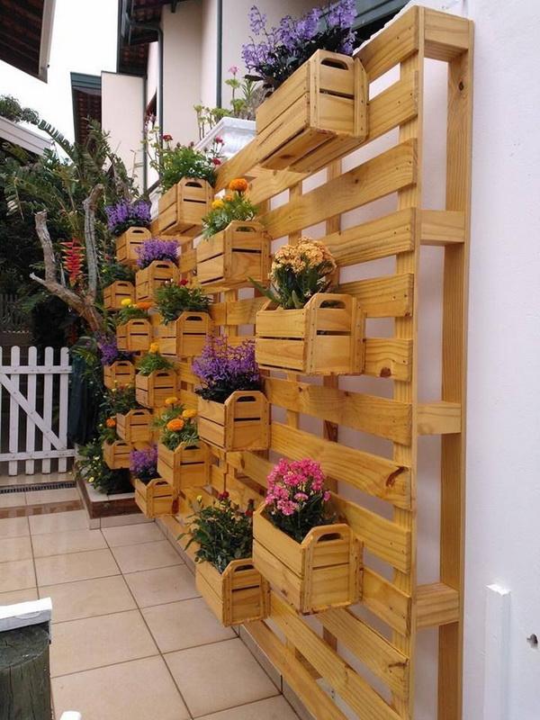 Вертикальное озеленение-варианты для маленького сада фото 2
