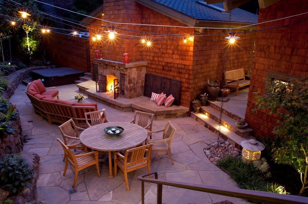 Садовое освещение-фото 4