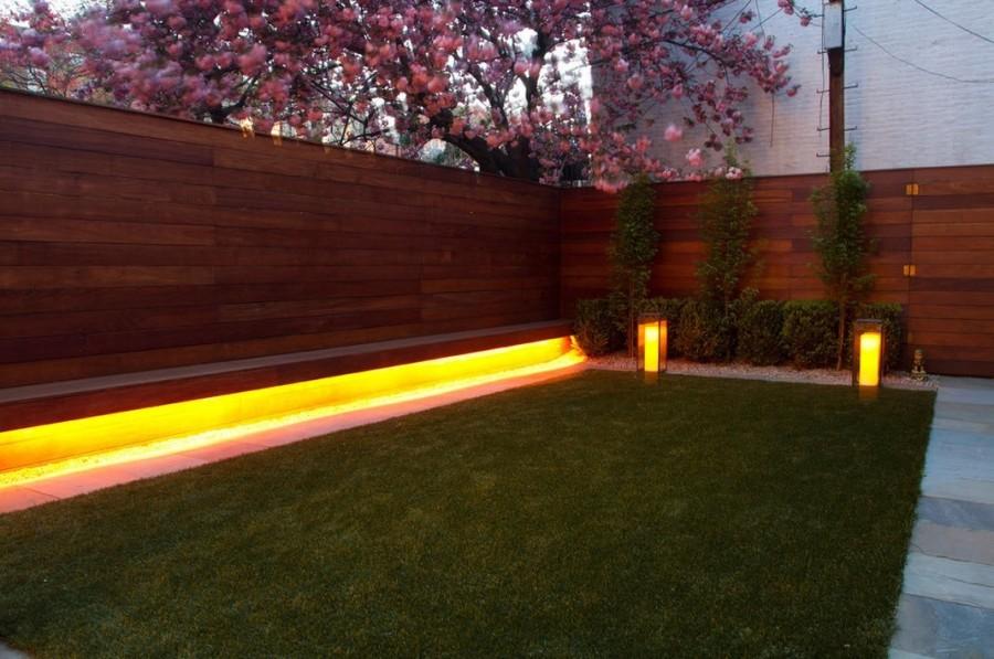 Светодиодное освещение в саду-фото 2