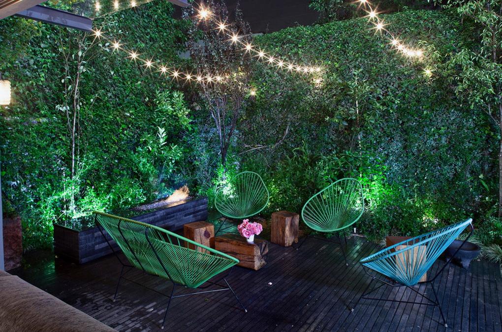 Летний сад-освещение