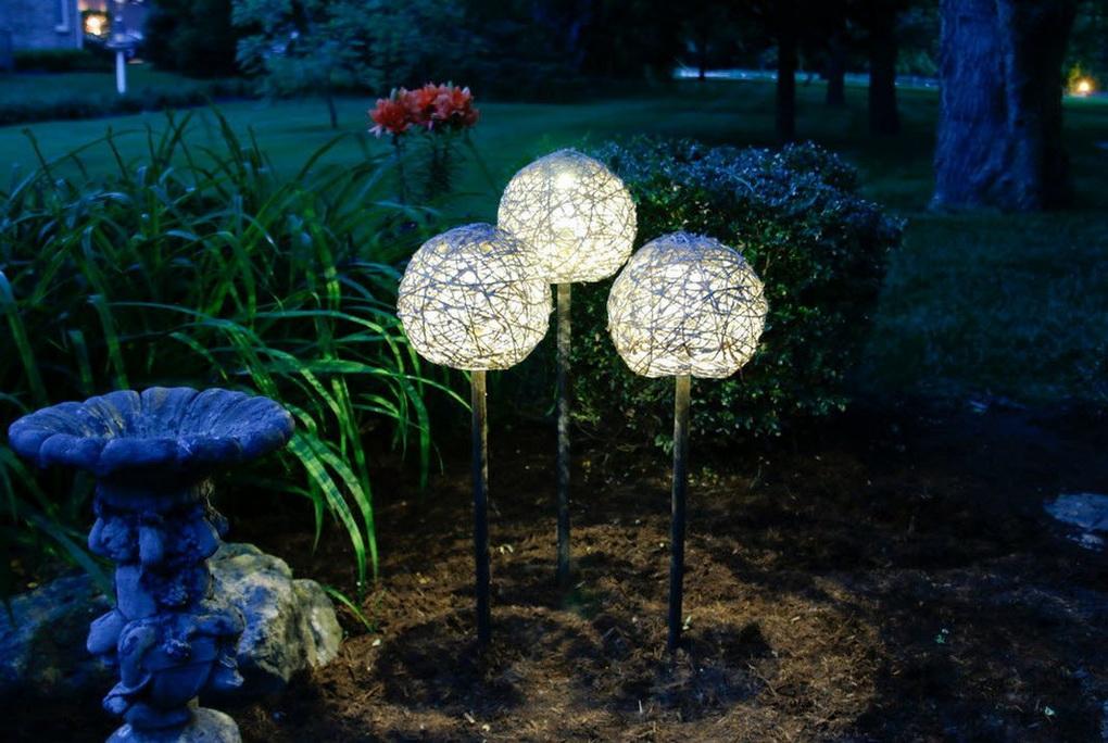 Оригинальные светильники своими руками-шары