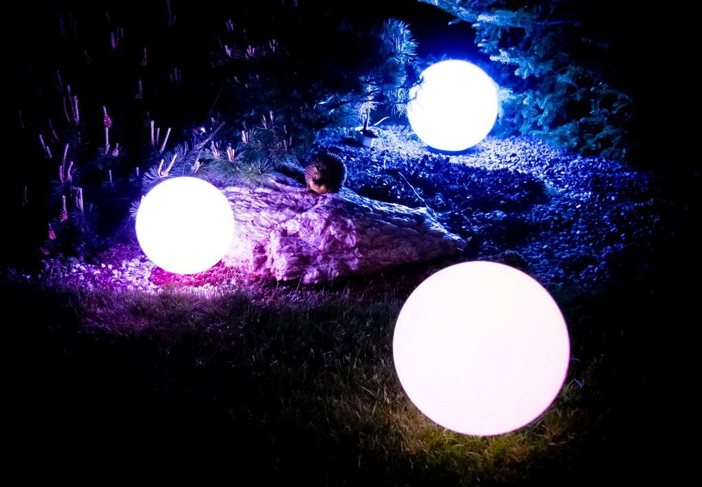 Светодиодные шары для сада-освещение
