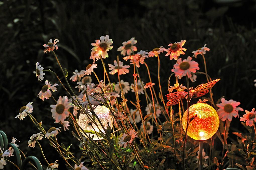 Освещение сада-стильные светильники