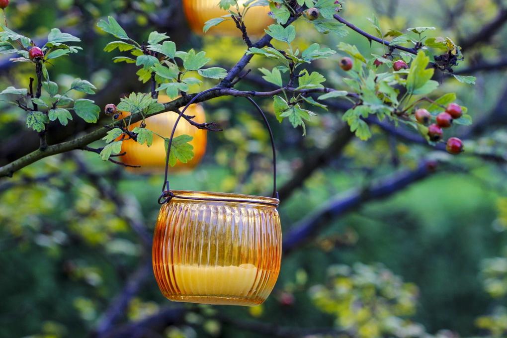 Свечное освещение для сада-идеи