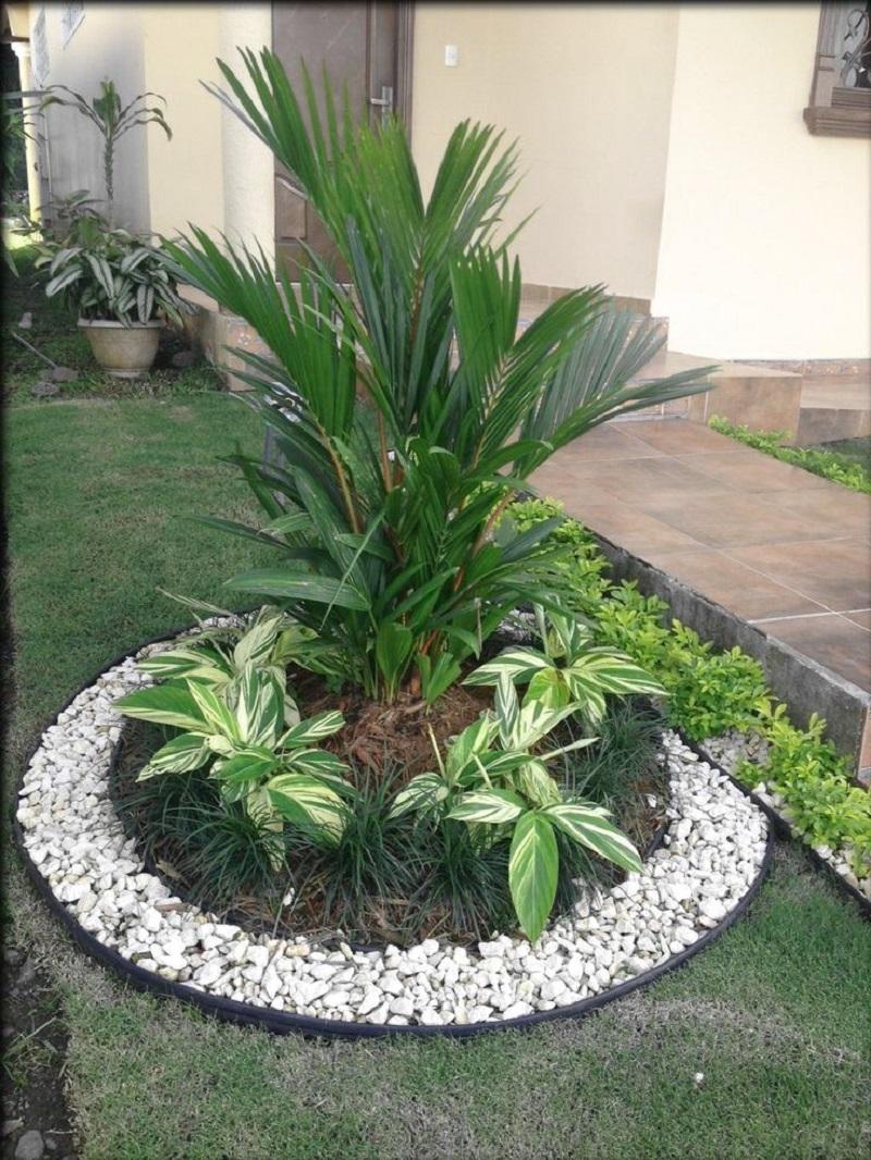 Декоративная галька-сад