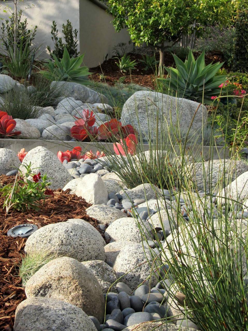 Рокарий-сад камней фото