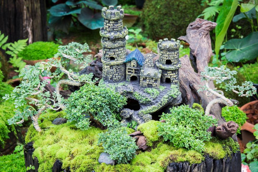 Сказочный сад в миниатюре-решения для маленьких участков