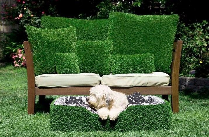 Садовая мебель-имитация травы