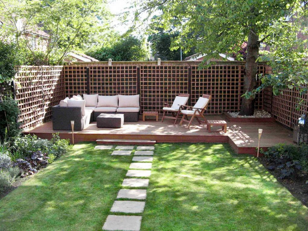 Зона релакса в саду-фото 1