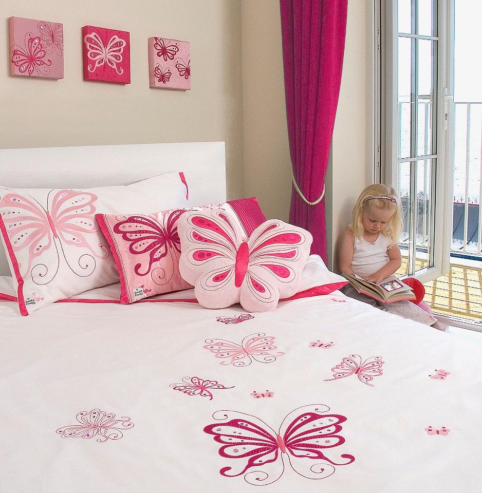 Спальня для девочки-интерьер