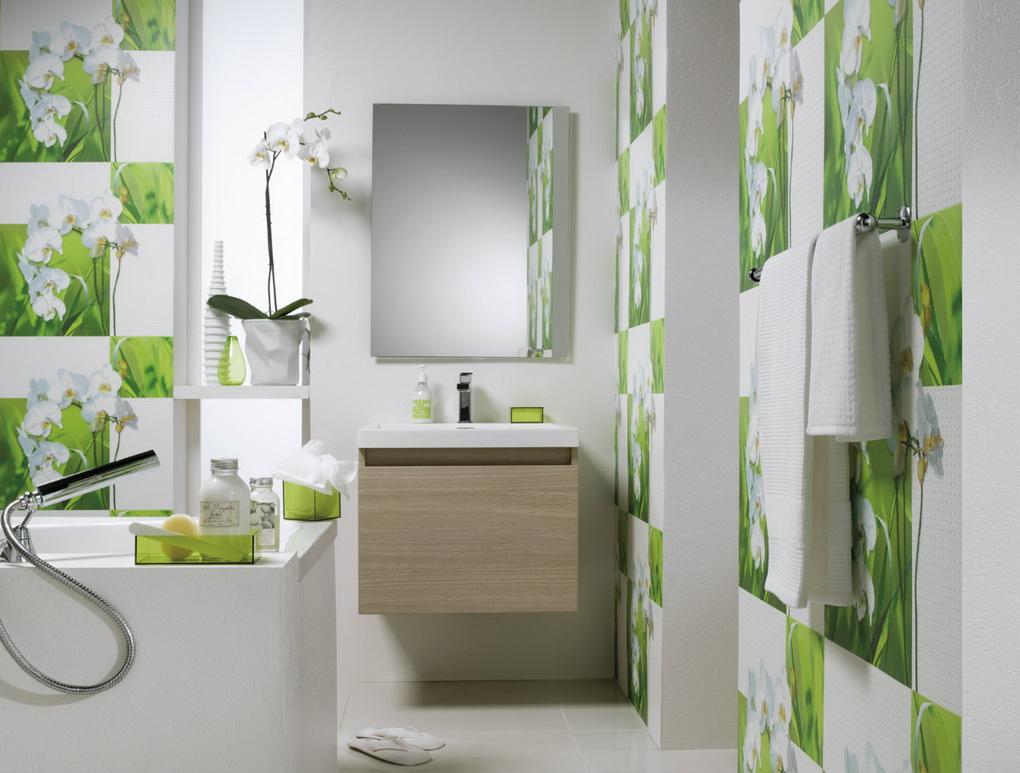 Ванная комната-весенний интерьер