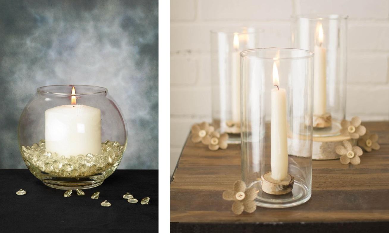 Свечи в интерьере-фото 2